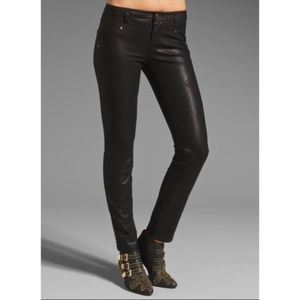 NWOT Free People Vegan Leather Seemed Skinny Pants